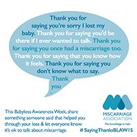 Saying Thanks image