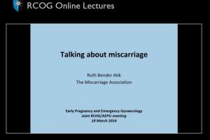 Lecture photo