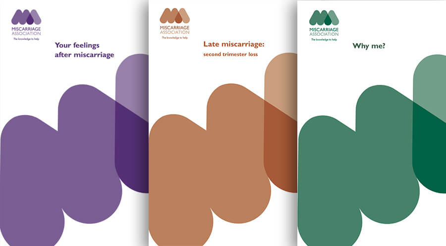 Miscarriage Association support leaflets