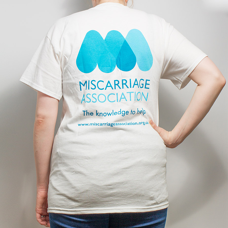 T Shirt The Miscarriage Association