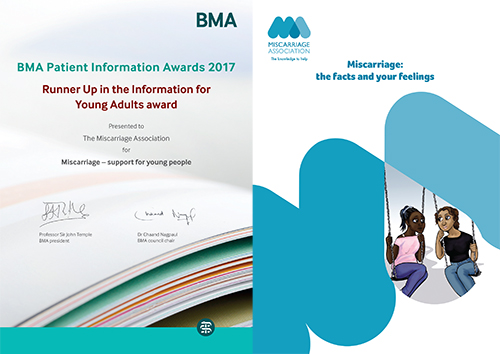 Young people's leaflet and Award Certificate