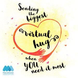 Text through a send hug 'HUG' App