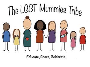 The LGBT Mummies Tribe logo